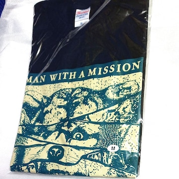 MAN WITH A MISSION¶Tシャツ¶M¶新品¶ブラック¶¶送料無料