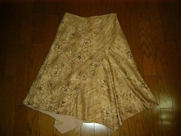 ★キャサリンロス 裾デザインがおしゃれなスカート★エフデ