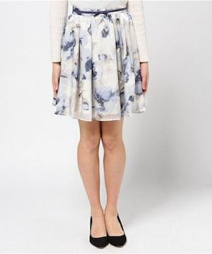 新品タグ付きミッシュマッシュ ふんわりフラワースカート