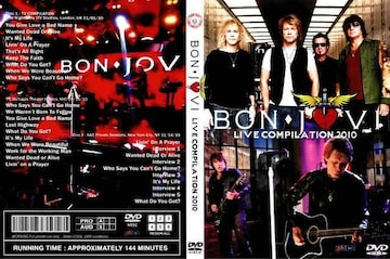 BON JOVI LIVE BEST 2010 ボンジョヴィ