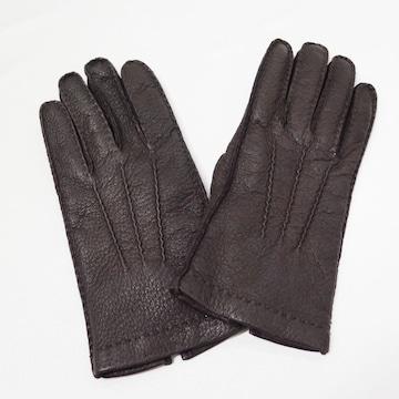 ジョルジオアルマーニ ペッカリー レザー グローブ 手袋