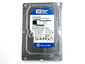 ★ハードディスク WD WD5000AAKS 500GB SATA