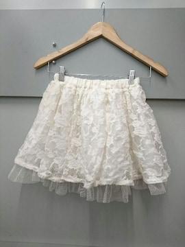LIZ LISA☆起毛花レーススカート