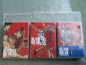 スラムダンク【DVD Collection Vol.1/2/3:新品】SLAM DUNK全巻