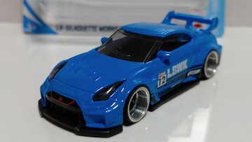 ホットウィール改・LBシルエットワークス・GT・日産35GT-RR・VER2