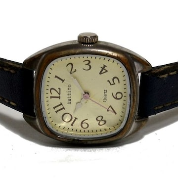 【980円〜】激カワ nattito アンティーク・ヴィンテージ腕時計