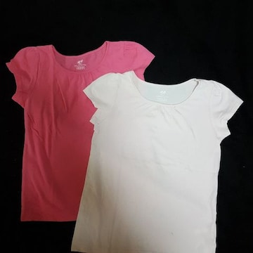 H&MTシャツ2枚セット☆サイズ130