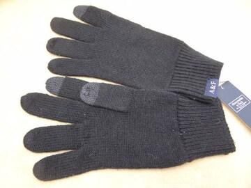アバクロ メンズ ニット手袋 BK 639149041