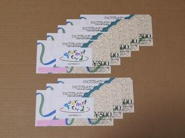 ジェフグルメカード 8枚 切手・印紙可