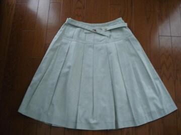 キャサリンロス 大人かわいいコットンフレアースカート★ベルト付