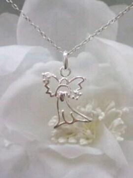 ★可愛い天使のペンダント★シルバー925