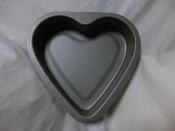 ハートケーキ型おかし作り鉄フッ素加工手作り製菓テフロン貝印
