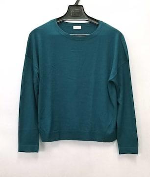 正規プラステニットグリーン系薄手レディースM長袖PLS
