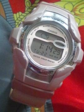 カシオレディースBABY-Gショッデジタルク腕時計可愛いピンク