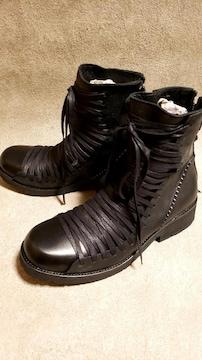 新品KMRiiケムリ/Crush Lace-up Boots02/RFM