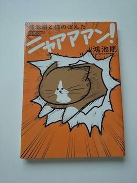 『鴻池剛と猫のぽんた ニャアアアン!』☆鴻池剛★KADOKAWA☆
