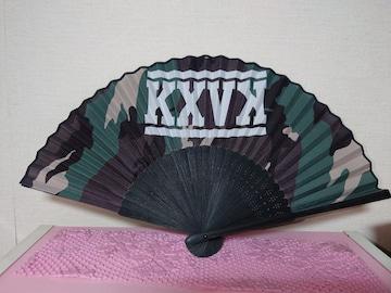 倖田來未 扇子 迷彩 KXVK 15th