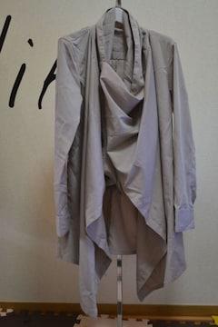 モード、デザイナーズ好きに★ 変型オーバーラッピングシャツ