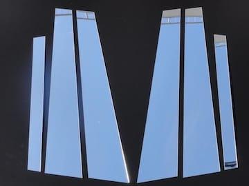 クロームメッキ超鏡面 ピラー モール W204 C200C250C300C350C63