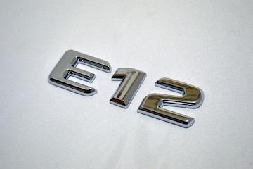 ベンツ風 日産ノート型式エンブレム E12 アルファーベット