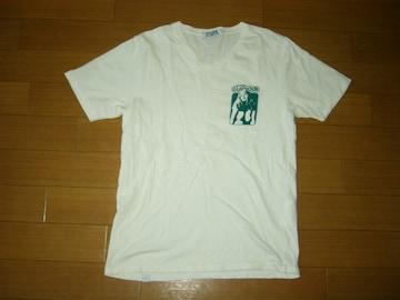 HYSTERIC GLAMOURヒステリックグラマーV字系TシャツM白