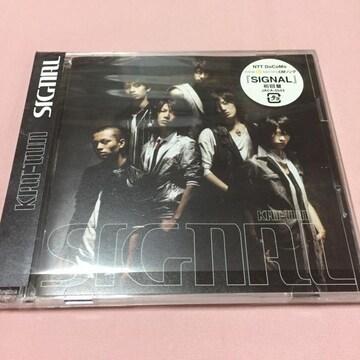 送料込 KAT-TUN SIGNAL CDシングル 美品