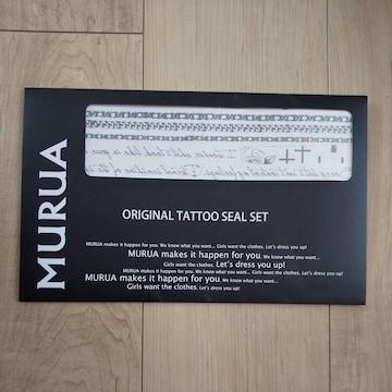 MURUA タトゥーシール 3枚