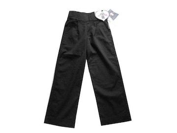 新品 BACK AND FORTH レディース 黒 パンツ L 11 ストレート