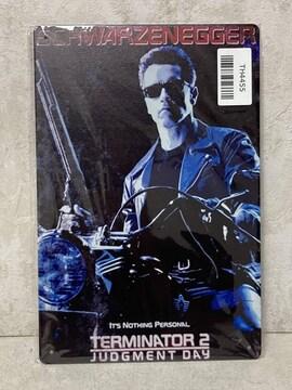 「ターミネーター2 メタル ポスター」mo-db