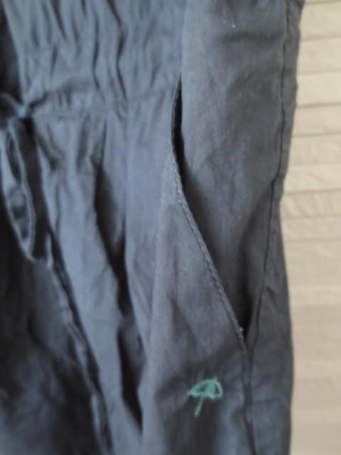 即決/Arnold Palmer/半袖コットンブラウスシャツワンピース/紺/3 < ブランドの