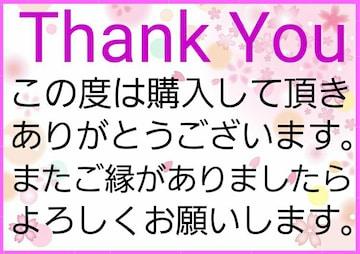 送料込み価格 Thank Youシール B-1    5シート