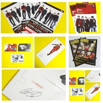 G-DRAGON★BIGBANGカード3種&ミニ等身大パネルなど