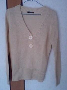 コムサイズム麻セーター送料込み