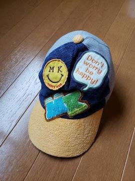 ☆美品☆ミニK☆タオル地×メッシュ帽子☆54�p
