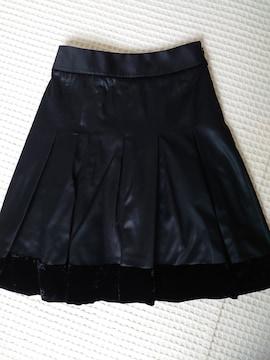 ☆COMME CA DU MODE黒光沢プリーツスカート☆7