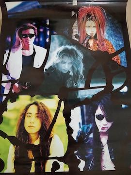 ポスター X JAPAN Yoshiki hide pata heath ToshI  1994
