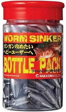 NAKAZIMA(ナカジマ) ワームシンカー ボトルパック 28g. ��2794