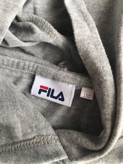 FILA フィラ パーカーワンピース キッズ 150 < ブランドの