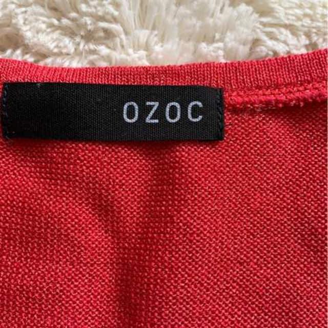 OZOC  デザイントップス  サイズ38 < ブランドの
