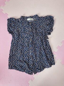 韓国子供服★半袖シャツ110