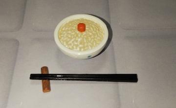 リーメント廃盤ふるさと産地直送便8明太子ごはん、箸置き、箸セットミニチュア