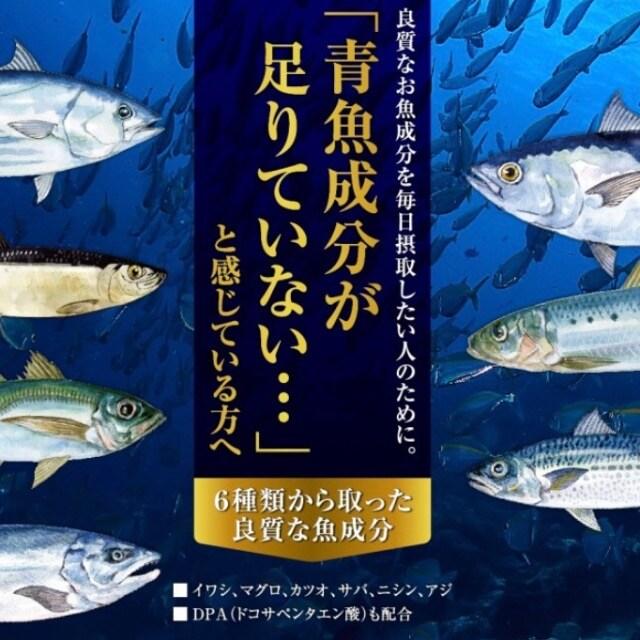 7種類の魚油を贅沢使用 オメガ3 DHA&EPA+DPAサプリメント3ヵ月 < グルメ/ドリンクの