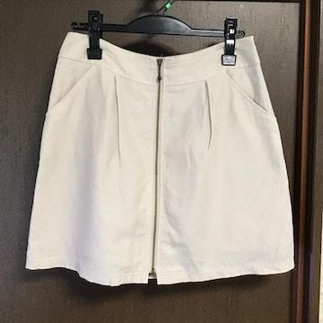 ペイトンプレイス 麻混スカート