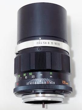 Z163 MINOLTA ミノルタ MC TELE ROKKOR-PF 1:2.8 f=135mm 超美品