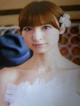 即決 非売品 上からマリコ 特典写真 篠田麻里子/AKB48 タワレコアイドルフォト