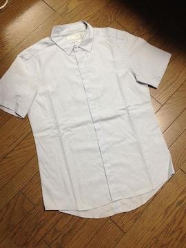 美品BEAMS シャツ ライトブルー 日本製 ビームス