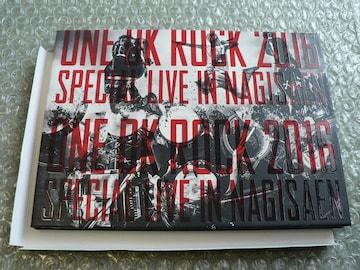 ONE OK ROCK/2016 SPECIAL LIVE IN NAGISAEN【Blu-ray:2枚組】