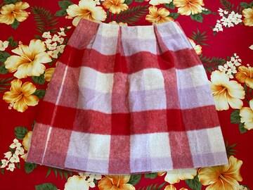 ロペピクニック☆可愛いチェック柄ふんわりスカート☆