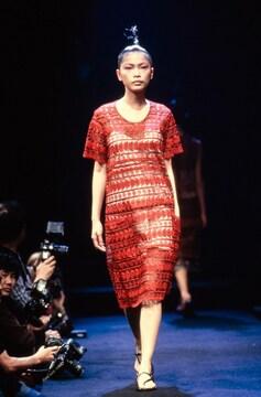 1995AW コムデギャルソン チュール レース 刺繍 スカート ビンテージ 90s