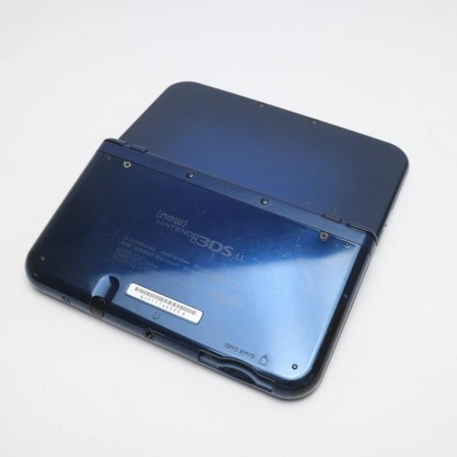 ●良品中古●Newニンテンドー3DS LL メタリックブルー● < ゲーム本体/ソフトの